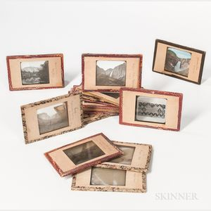 Sixteen American National Parks and Monuments Magic Lantern Slides