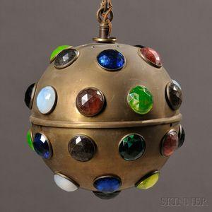 Jeweled Hall Lamp
