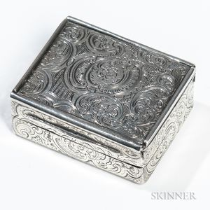 William IV Sterling Silver Vinaigrette