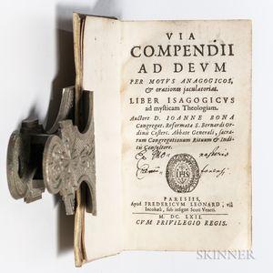 Bona de Boliris, Giovanni (c. 1520-c. 1572) Via Compendii ad Deum per Motus Anagogicos, & Orationes Jaculatorias.