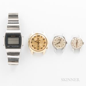 Four Vintage Wristwatches