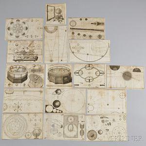 Seventeen Engravings by James Ferguson After J. Mynde