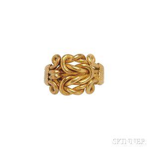 High-karat Gold Pavitram Ring