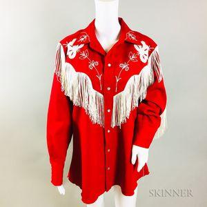 Vintage Western Red Shirt
