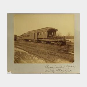 Sixteen Photographs Of Railroad Accidents