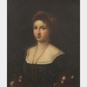 After Tiziano Vecellio , called Titian (Italian, c. 1489-1576)    La Bella