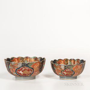 Set of Two Imari Bowls