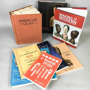 Eight Antiques Reference Books