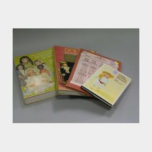 Group of Doll Books