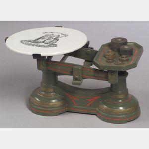 Fairbanks Cast-Iron Counter Scale