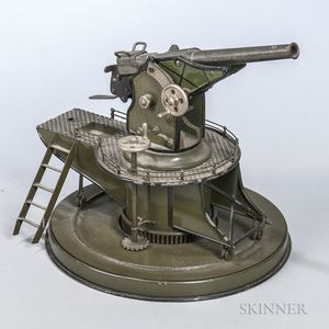Marklin Tin and Iron Coast Anti-aircraft Gun