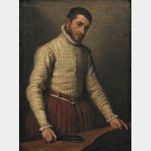 After Giovanni Battista Moroni (Italian, 1546/7-1578)      Il Tagliapanni (The Tailor)