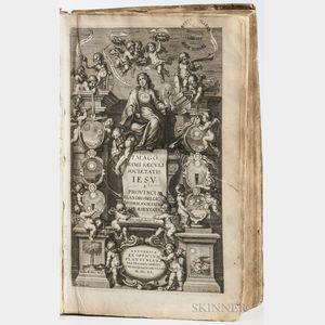 Bolland, Jean (1596-1665) Imago Primi Saeculi Societatis Iesu a Provincia Flandro-Belgica eiusdem Societatis Repraesentata.