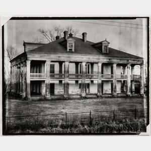 Walker Evans (American, 1903-1975)       Uncle Sam Plantation House, St. James Parish, Louisiana
