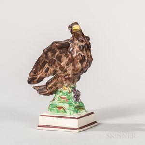 Wedgwood Pearlware Model of an Eagle