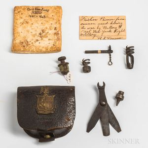 Group of Civil War Items