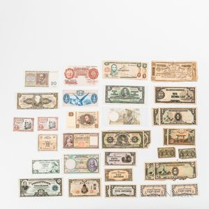 Group of World Paper Money