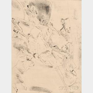 Jules Pascin (French, 1885-1930)      Charmante soirée