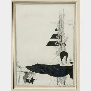 Sold for: $142,200 - Beardsley, Aubrey (1872-1898) and Wilde, Oscar (1854-1900)