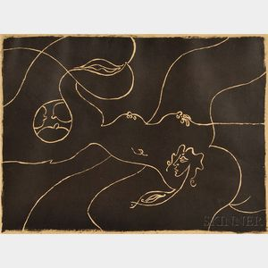 André Masson (French, 1896-1987)      Formes féminines