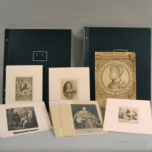Sixty-one Old Master Prints, Many Late Impressions: