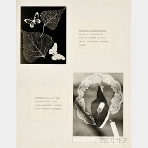 Man Ray (American, 1890-1976)      Photographic Preservation