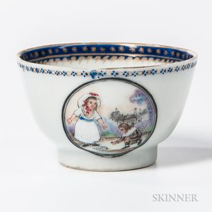 Small Export Porcelain Child's Teacup