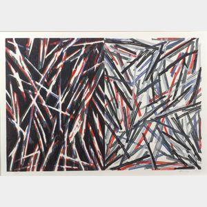 Charles Arthur Arnoldi (American, b. 1946)    Untitled #3