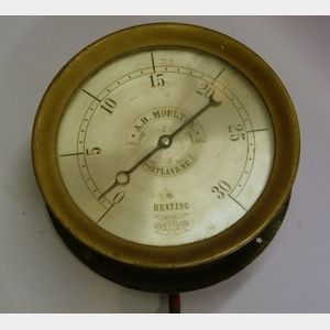 Crosby Steam Gauge for A. H. Moulton