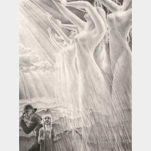 Kyra Markham (American, 1891-1967)      The Silver Trumpets of the Rain