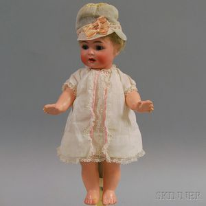 Small Kammer & Reinhardt/Simon & Halbig Open-mouth Bisque Head Toddler Doll