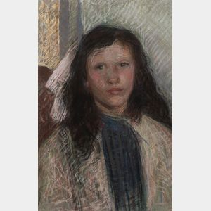Eugène Laurent Vail (American/French, 1857-1934)      Clotilde