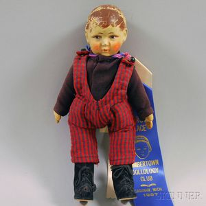 Painted Cloth Doll