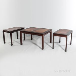 Three-part Hardwood Dining Group
