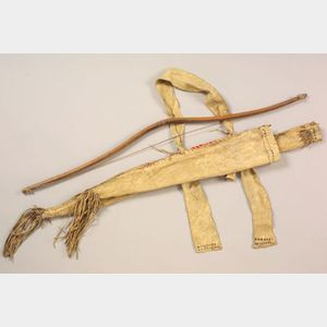 Southern Plains Hide Bow Case and Quiver