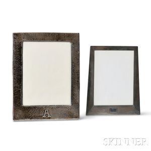 Art Deco Clemens Friedell Frame and an Arts and Crafts Frame