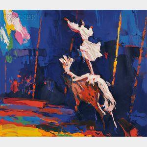 Nicola Simbari (Italian, 1927-2012)      CIRQUE / A Suite of Five works