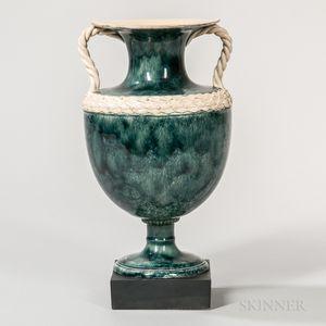 Wedgwood & Bentley Porphyry Vase