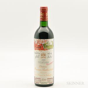 Chateau Mouton Rothschild 1989, 1 bottle