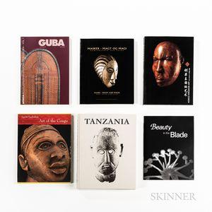 Six African Art Books