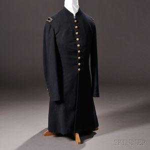 Civil War-era Company-grade Infantry Officer's Frock Coat