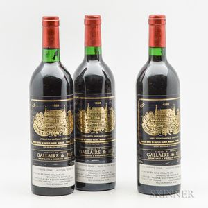 Chateau Palmer 1983, 3 bottles