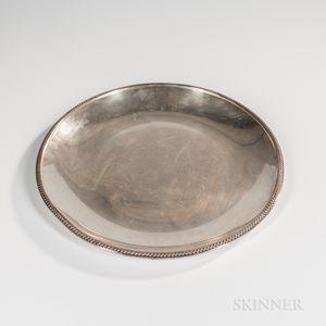 Baldwin & Miller Sterling Silver Tray