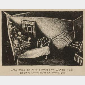 Wanda Gag (American, 1893-1946)      Christmas Eve I