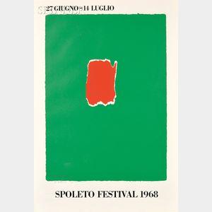 Robert Motherwell (American, 1915-1991)      Spoleto Festival