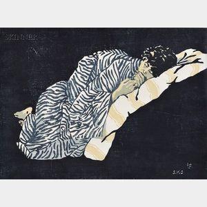 Seiichiro Konishi  (Japanese, b. 1919)      Sleep.