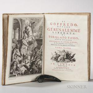 Tasso, Torquato (1544-1595) Il Goffredo, Ovvero Gerusalemme Liberata.