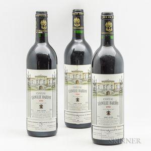 Chateau Leoville Barton 1990, 3 bottles