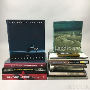 Photography Books Signed by Authors, 20th Century, Twenty Titles.