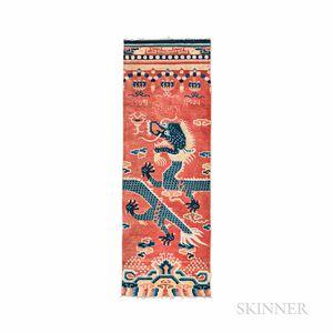 Ningxia Dragon Column Rug